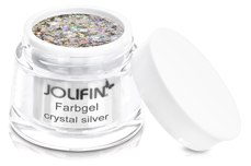 Jolifin Farbgel crystal silver 5ml