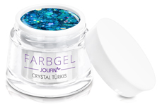 Jolifin Farbgel crystal türkis 5ml