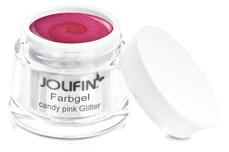 Jolifin Farbgel candy pink Glitter 5ml