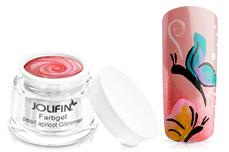 Jolifin Farbgel French pearl-apricot Glimmer 5ml