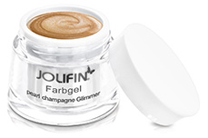 Jolifin Farbgel French pearl-champagne Glimmer 5ml