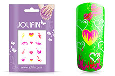 Jolifin Neon Sticker 9