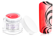 Jolifin Farbgel metallic neon-coral 5ml