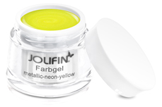 Jolifin Farbgel metallic neon-yellow 5ml