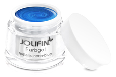 Jolifin Farbgel metallic neon-blue 5ml
