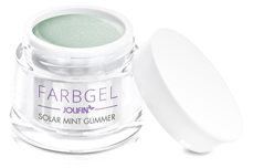 Jolifin Solar Farbgel mint Glimmer 5ml