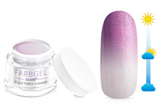 Jolifin Solar Farbgel purple Glimmer 5ml