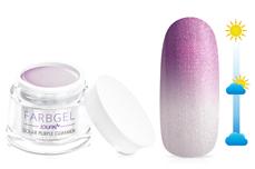 Jolifin Solar Farbgel purple Glimmer 5ml