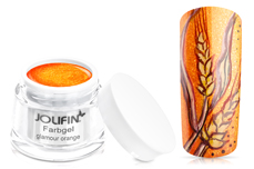Jolifin Farbgel glamour orange 5ml
