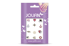Jolifin Glitter Nailart Sticker 46