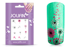 Jolifin Glitter Nailart Sticker 53