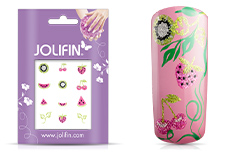 Jolifin Glitter Nailart Sticker 54