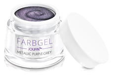 Jolifin Farbgel metallic purple-grey 5ml