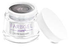 Jolifin Farbgel silver blizzard 5ml