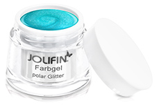 Jolifin Farbgel polar Glitter 5ml