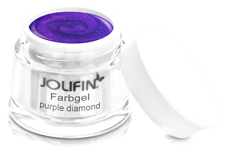 Jolifin Farbgel purple diamond 5ml