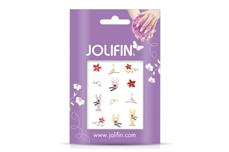 Jolifin Weihnachts Glitter Sticker 10