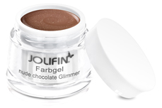 Jolifin Farbgel nude chocolate Glimmer 5ml