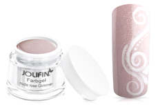 Jolifin Farbgel nude rose Glimmer 5ml