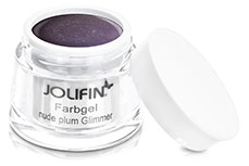 Jolifin Farbgel nude plum Glimmer 5ml