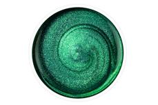 Jolifin Stamping-Lack - green glitter 12ml