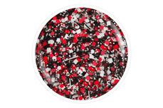 Jolifin Carbon Colors Effect-Coat cherry sprinkles 14ml