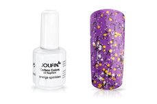 Jolifin Carbon Colors Effect-Coat orange sprinkles 14ml
