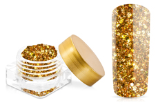 Jolifin Illusion Glitter III orange-gold