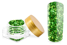Jolifin Illusion Glitter III snake green