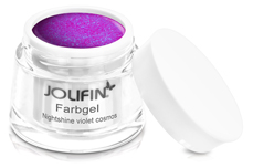 Jolifin Farbgel Nightshine violet cosmos 5ml
