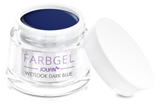 Jolifin Wetlook Farbgel dark blue 5ml