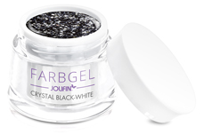 Jolifin Farbgel crystal black-white 5ml