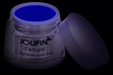 Jolifin Farbgel Nightshine purple dust 5ml