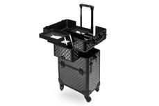 Jolifin Trolley Koffer Comfort schwarz