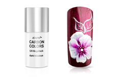 Jolifin Carbon Colors UV-Nagellack dark hibiscus 11 ml