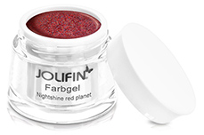 Jolifin Farbgel Nightshine red planet 5ml