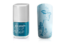 Jolifin Stamping-Lack - caribbean sea 12ml