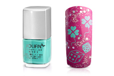 Jolifin Stamping-Lack - light mint 12ml