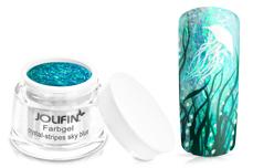 Jolifin Farbgel crystal-stripes sky blue 5ml