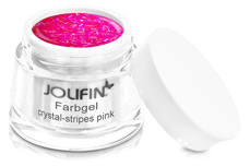 Jolifin Farbgel crystal-stripes pink 5ml