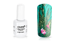 Jolifin Carbon Colors UV-Nagellack jungle stars 14ml