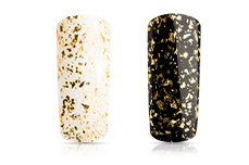 Jolifin Carbon Effect-Coat gold flakes 11ml