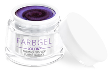 Jolifin Thermo Farbgel Flip-Flop purple galaxy 5ml