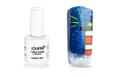 Jolifin Carbon Colors UV-Nagellack saphire rain 11ml