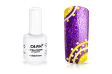Jolifin Carbon Quick-Farbgel - violet dream 11ml