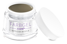 Jolifin Wetlook Farbgel mocca 5ml