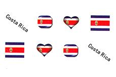 Jolifin Fussball Tattoo - Costa Rica