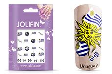 Jolifin Fussball Tattoo - Uruguay