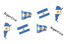 Jolifin Fussball Tattoo - Argentina