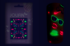 Jolifin Neon Sticker 14